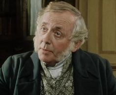 Pride and Prejudice Readers' Choice ~ The Bennet Brother – Scene #26 | Austen Authors by Abigail Reynolds (image of Benjamin Whitrow as Mr. Bennet)