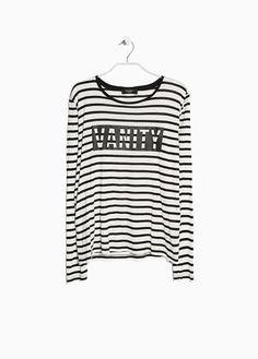T-shirt à rayures Vanity