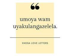 XhosaLoveLetters on Etsy Love Letters, Love Story, Etsy Seller, Cartas De Amor, Boyfriend Letters