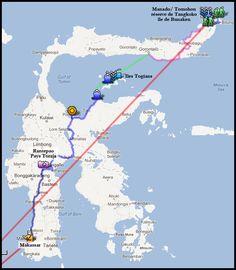 itinéraire Sulawesie