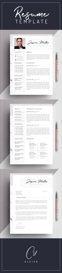 Fully Editable Resume  Cv Template In Ms Word  Page Template