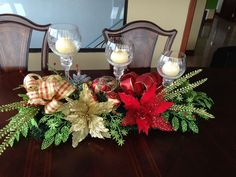 Gold Christmas Tree, Christmas Fireplace, Christmas Candles, Christmas Wreaths, Christmas Crafts, Christmas Table Centerpieces, Christmas Decorations For The Home, Diy Party Decorations, Holiday Decor