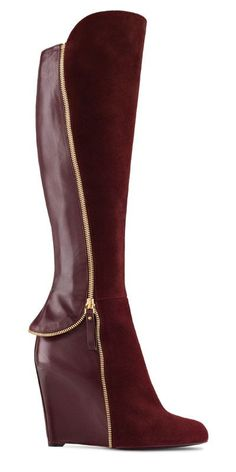 Easy Rider Boot Women's Fall-Winter 2011/2012 collection - Sergio Rossi #sergiorossiheels