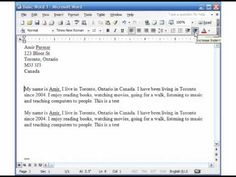 MS Word 2003 Basic 3 (Format, Paragraph, Bullets, Page Setup, Print, Print Preview)