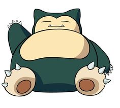 One of my favorite pokemon, he's so cute and fat.