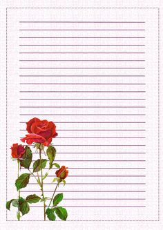 Adoro Paint Shop Pro: Papéis de Carta -Floral-PNG