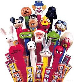 PEZ Candy.. I used to have every one of these!!