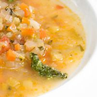 Barley and Vegetable Soup - Dr. Weil's Healthy Kitchen- oh, yes, must include mushrooms!