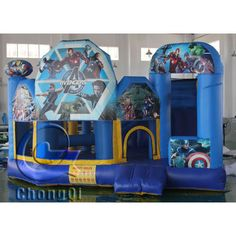 Star Wars inflatable jumping castle, for more information, welcome to visit website: http://www.china-inflatables.com/CQCO541.html