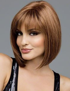 Carley Medium Straight Bob Synthetic Wig