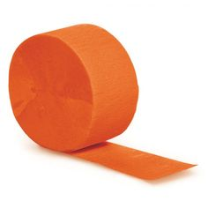 Shop our Orange Crepe Paper Streamer. Decorate any party with this 81 foot roll from Creative Converting Crepe Paper Streamers, Party Streamers, Streamer Decorations, Orange Party, Halloween Party Supplies, Bear Party, Party Tableware, School Colors, Colorful Decor