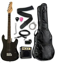 Just added another great item to our store Raptor EP36-BK3/4... check it out @ http://guitarisms.com/products/raptor-ep36-bk3-4-scale-36-kids-child-starter-electric-guitar-pack-ep36-with-digital-tuner-gig-bag-strap-cable-replacement-strings-whammy-bar-picks-3w-amp-black?utm_campaign=social_autopilot&utm_source=pin&utm_medium=pin