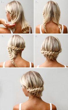 (foto) 10 coafuri simple și stilate care le poți face în doar 3 minute
