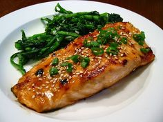 Poached Fish With Ginger & Soy