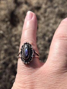 Abalone Ring , Southwestern Ring , Sterling Silver Ring Sterling Silver Necklaces, Silver Rings, Rock Rings, Owl Earrings, Onyx Ring, Star Necklace, Gemstone Rings, Etsy, Jewelry