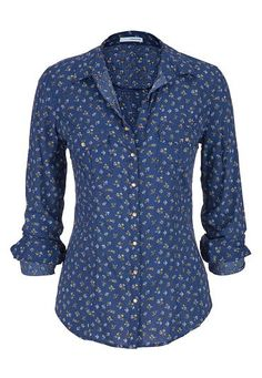 button down shirt in floral print (original price, $29) available at #Maurices