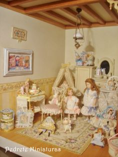 little girls room  Casa Shabby Chic.