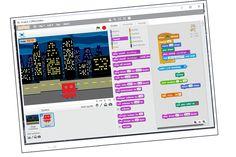 KoderTeam Programowanie gier Na naszych warsztatach będziemy  tworzyć interaktywne gry, animacje i historyjki, które uczą logicznego, analitycznego myślenia, przy czym nie wymagają zaawansowanej wiedzy matematycznej. Programowanie Scratch to idealny przykład  nauki przez zabawę – ćwiczenia przypominają układanie puzzli, a szybkie efekty pracy wzmagają zainteresowanie nowinkami technologicznymi oraz pobudzają wyobraźnię.