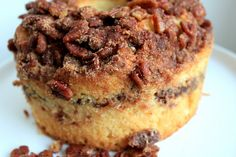 Sour Cream Coffee Cake With Cinnamon-Pecan Filling.  Going Nuts For Dessert...  (1) From: Food Wife Kitchen, please visit