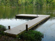 Floating Dock - L Shape
