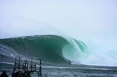 Wavelength Magazine Galleries. Andy Marr takes on Dungeons, South Africa. Big Wave Surfing.