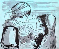 Aladino por Maria Pascual