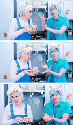 In which Dan is the most adorable cutie ever. And so is Phil. So normal i guess?(Easter Baking Videos)