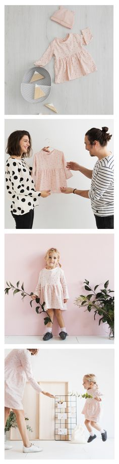 MIMUS PATTERN FOR GIRL | DRESS & TEE .