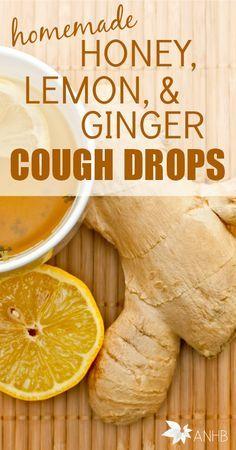 These homemade honey, lemon, and ginger cough drops are amazing! http://www.pinterest.com/knawj/health-exercise/