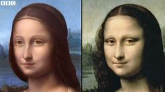 Un retrato oculto descubierto bajo la sonrisa de la Mona Lisa | The Creators Project