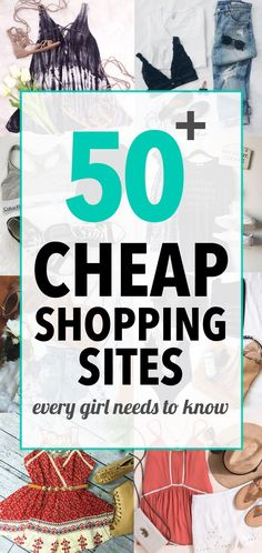 50 Cheap Shopping Sites Every Girl Needs To Know - Society19