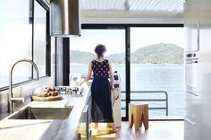 A dream boathouse on lake Eildon. Design: Pipkorn & Kilpatrick. Photos: Christina Francis.