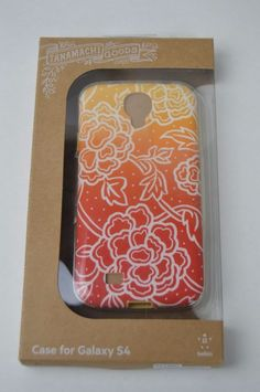 Belkin Dana Tanamachi Floral Cell Phone Case for Galaxy S4 Red/White BRAND NEW #Belkin