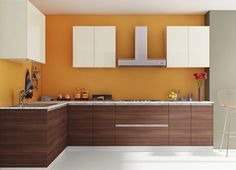 Customize your kitchen interiors and get a dream modular kitchen specially designed for Indian homes. Browse the latest modular kitchens designs in India. L Shaped Modular Kitchen, L Shaped Kitchen, Furniture Companies, Online Furniture, Best Interior, Kitchen Interior, Kitchen Designs Photos, Indian Kitchen, Indian Homes