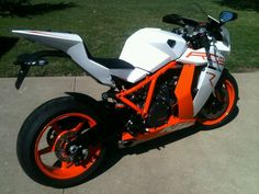 KTM RC8 imported from Australia...hell ya