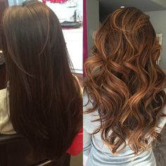 From dark to light ready for spring hair