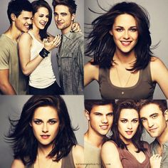 Twilight, New Moon, Eclipse, Breaking Dawn. I love this series.