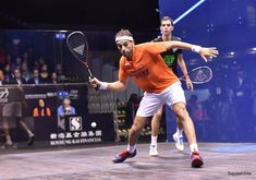 Your elbow should lead the swing on the forehand side. The helps to open the racket face whilst also generating racket head speed.   Find out lots more about forehand technique in this week's series with Peter Nicol, on SquashSkills.com!