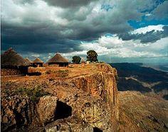Ethiopian landscape.