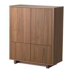 STOCKHOLM Cabinet with 2 drawers - walnut veneer - IKEA