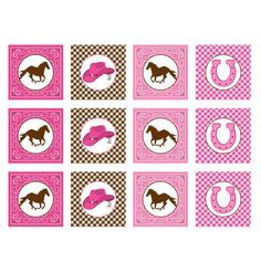 Free Printable Cupcake Toppers Western | brown printable cupcake toppers 2 here is our cowgirl cupcake toppers ...
