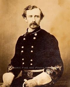 GEORGE ARMSTRONG CUSTER RARE PHOTO BRIGADIER GENERAL CIVIL WAR 1864 #20889