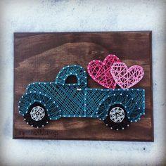 Carro de arte cadena día de San Valentín