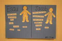 http://kidsandthebible.blogspot.com/search/label/Jacob and Esau