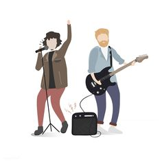 Illustration of human hobbies and activities People Illustration, Character Illustration, People Png, Photoshop For Photographers, Photoshop Actions, Photoshop Images, Architecture People, People Figures, Music People