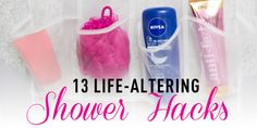 Get ready faster and keep your bathroom cleaner at the same time.
