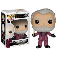 Hunger Games President Snow Pop! Vinyl Figure – Toy Wars
