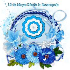 Mayo, Crochet, Tableware, Ideas, Gardens, Patriotic Symbols, Dibujo, Pintura, Preschool Learning Activities