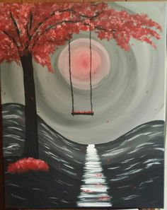 """Paint Nite """"Spring Swing"""" May 5th, 2017"""