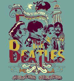 T-Shirt The Beatles - Helter Skelter  www.reverbcity.com